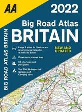 BIG ROAD ATLAS BRITAIN 2022 SP