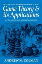 Game Theory and Its Applications in the Social and Biologica