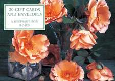 Roses Tinbox:  Apricot Roses