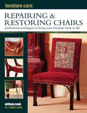 Repairing & Restoring Chairs:  Professional Techniques to Bring Your Furniture Back to Life