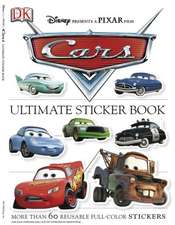 Cars [With More Than 60 Reusable Stickers]