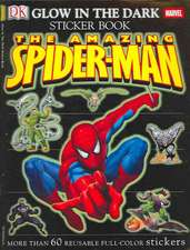 The Amazing Spider-Man Glow in the Dark Sticker Book [With More Than 60 Reusable Full-Color Stickers]
