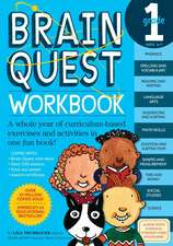 Brain Quest Grade 1 Workbook [With Stickers]:  29 Incredible Experiments
