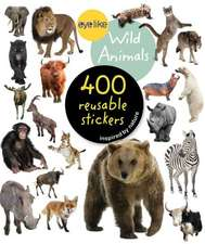 Eyelike Stickers, Wild Animals