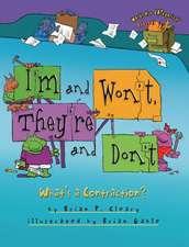 I'm and Won't, They're and Don't:  What's a Contraction?
