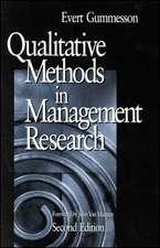 Qualitative Methods in Management Research