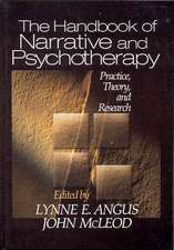 The Handbook of Narrative and Psychotherapy: Practice, Theory and Research