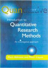 Introduction to Quantitative Research Methods: An Investigative Approach