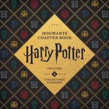 Harry Potter Hogwarts Coaster Book: Set of 5 Collectible Coasters