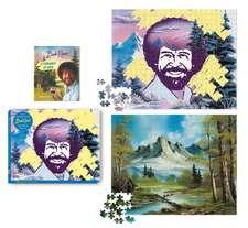 Bob Ross Happy Little 500-Piece Puzzle