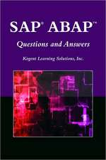 SAP? ABAP™ Questions and Answers