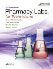 Pharmacy Labs for Technicians: Text with eBook (access code via email)
