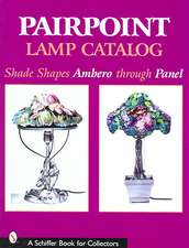 Pairpoint Lamp Catalog: Shade Shapes Ambero through Panel