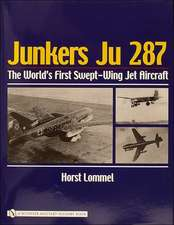 Junkers Ju 287: The World's First Swept-Wing Jet Aircraft