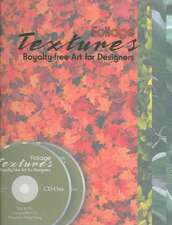 Foliage Textures Royalty Free Art for Designers:  A History in Postcards