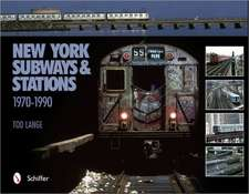 New York Subways & Stations:  1970-1990