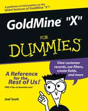 GoldMine 8 For Dummies