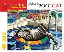 Poolcat Jigsaw Puzzle:  Birds, Flowers, and Nature Coloring Book
