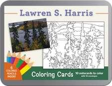 Lawren S. Harris Coloring Cards CC123