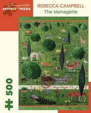 Rebecca Campbell the Menagerie 500 Piece Jigsaw Puzzle