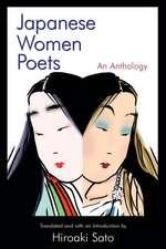 Japanese Women Poets:  An Anthology