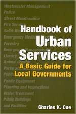 Handbook of Urban Services:  Basic Guide for Local Governments