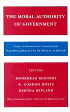 The Moral Authority of Government