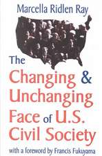 Changing and Unchanging Face of U.S. Civil Society