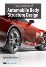 Fundamentals of Automobile Body Structure Design