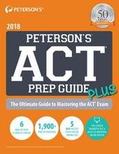 Peterson's ACT Prep Guide PLUS 2018
