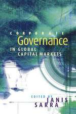 Corporate Governance in Global Capital Markets
