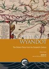 Petun to Wyandot:  The Ontario Petun from the Sixteenth Century