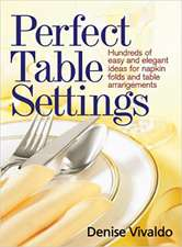 Perfect Table Settings