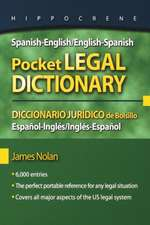 Spanish-English/English-Spanish Pocket Legal Dictionary/Diccionario Juridico de Bolsillo Espanol-Ingles/Ingles-Espanol:  The History of Cajun Cuisine