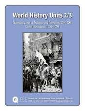 World History Units 2/3