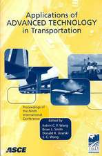 Applications of Advanced Technology in Transportation