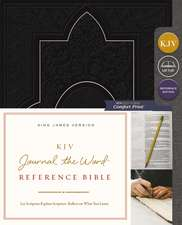 KJV, Journal the Word Reference Bible, Leathersoft, Black, Red Letter Edition, Comfort Print: Let Scripture Explain Scripture. Reflect on What You Learn.