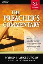 The Preacher's Commentary - Vol. 24: Matthew