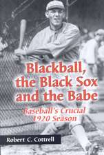 Blackball, the Black Sox, and the Babe: Baseball's Crucial 1920 Season