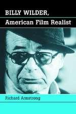 Billy Wilder, American Film Realist