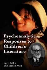 Psychoanalysis Responses to Children's Literture