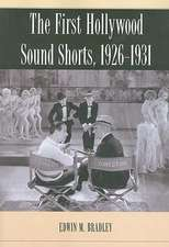 The First Hollywood Sound Shorts, 1926-1931