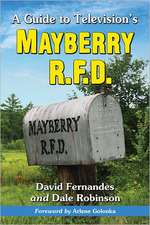 A Guide to Television's Mayberry R.F.D.
