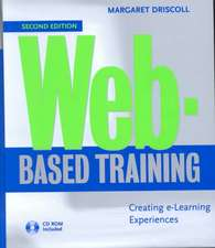 Web–Based Training: Creating e–Learning Experiences