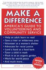 Make a Difference: America′s Guide to Volunteering and Community Service