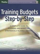 Training Budgets Step–by–Step: A Complete Guide to Planning and Budgeting Strategically–Aligned Training