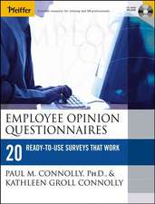 Employee Opinion Questionnaires: 20 Ready–to–Use Surveys That Work