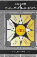 Elements of Pharmaceutical Pricing