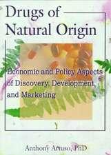 Drugs of Natural Origin