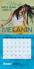 Black Girl Magic 2022 Wall Calendar